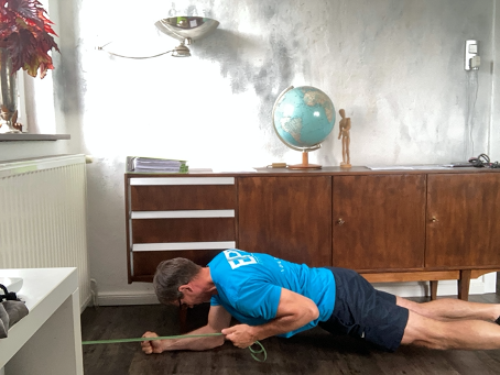 Kernkraft-Training Teil 6: Plank Band Row